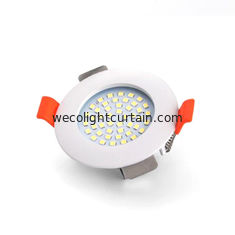AC / DC Elevator Ceiling Lights Anti Tamper Rear Clip Design Ultrathin Housing
